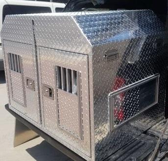 כלוב לרכב מאלומיניום לכלבים בלעדי
