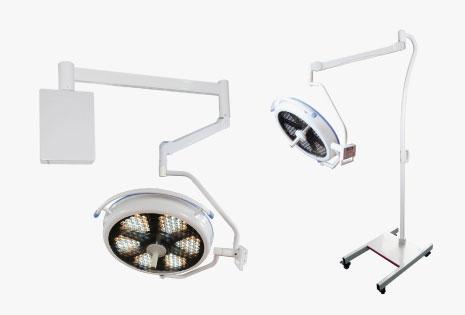מנורות ניתוח LED עם בקרת צבעים ומצלמה