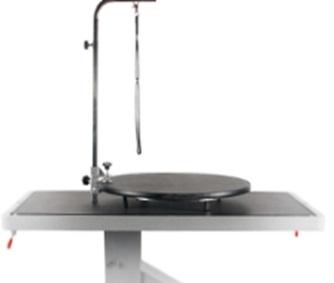מתקן מסתובב לשולחן טיפוח