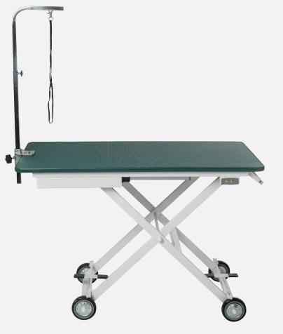 שולחן טיפוח חשמלי נייד מתקפל לתערוכות ואחסנה קלה