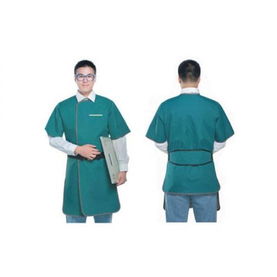 חלוק הגנה לרנטגן לגבר חצי שרוול מידה אוניברסלית להגנה מקסימלית