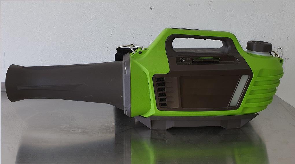 מערפל ULV קר אלחוטי עם סוללה נטענת לחיטוי