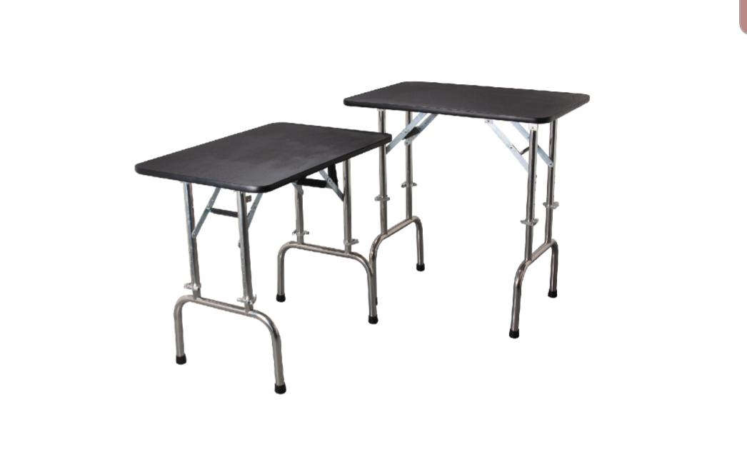 שולחן טיפוח מתקפל ומתכוונן גובה 120*60