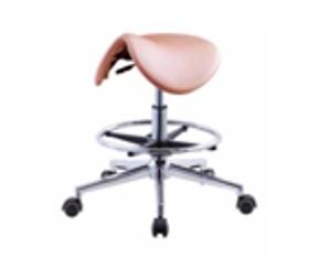 כיסא אוכף גבוהה ורוד