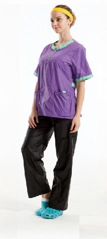 חולצה סגול לילך דגם אנג'ליה