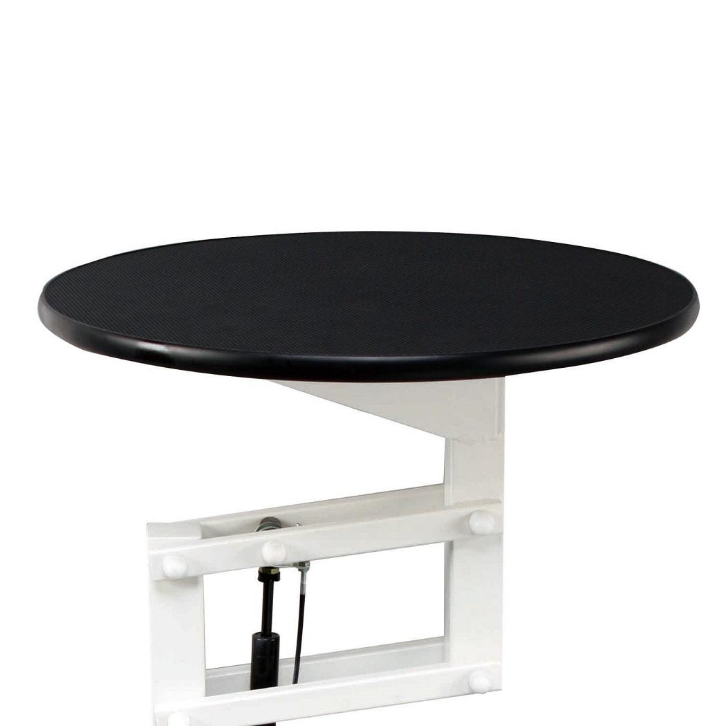 שולחן עגול הידראולי גבוהה קוטר 70
