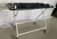 אלונקת טיפול נמרץ מתקפלת עם גלגלים למרפאה