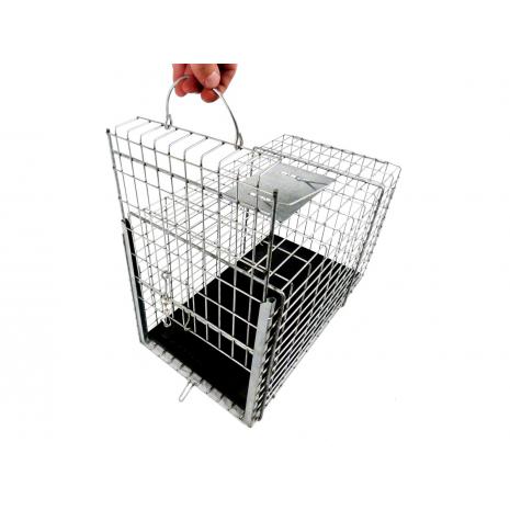 כלוב נשיאה טומהוק הטוב בעולם עם נעילת דלת ורצפת פלסטיק