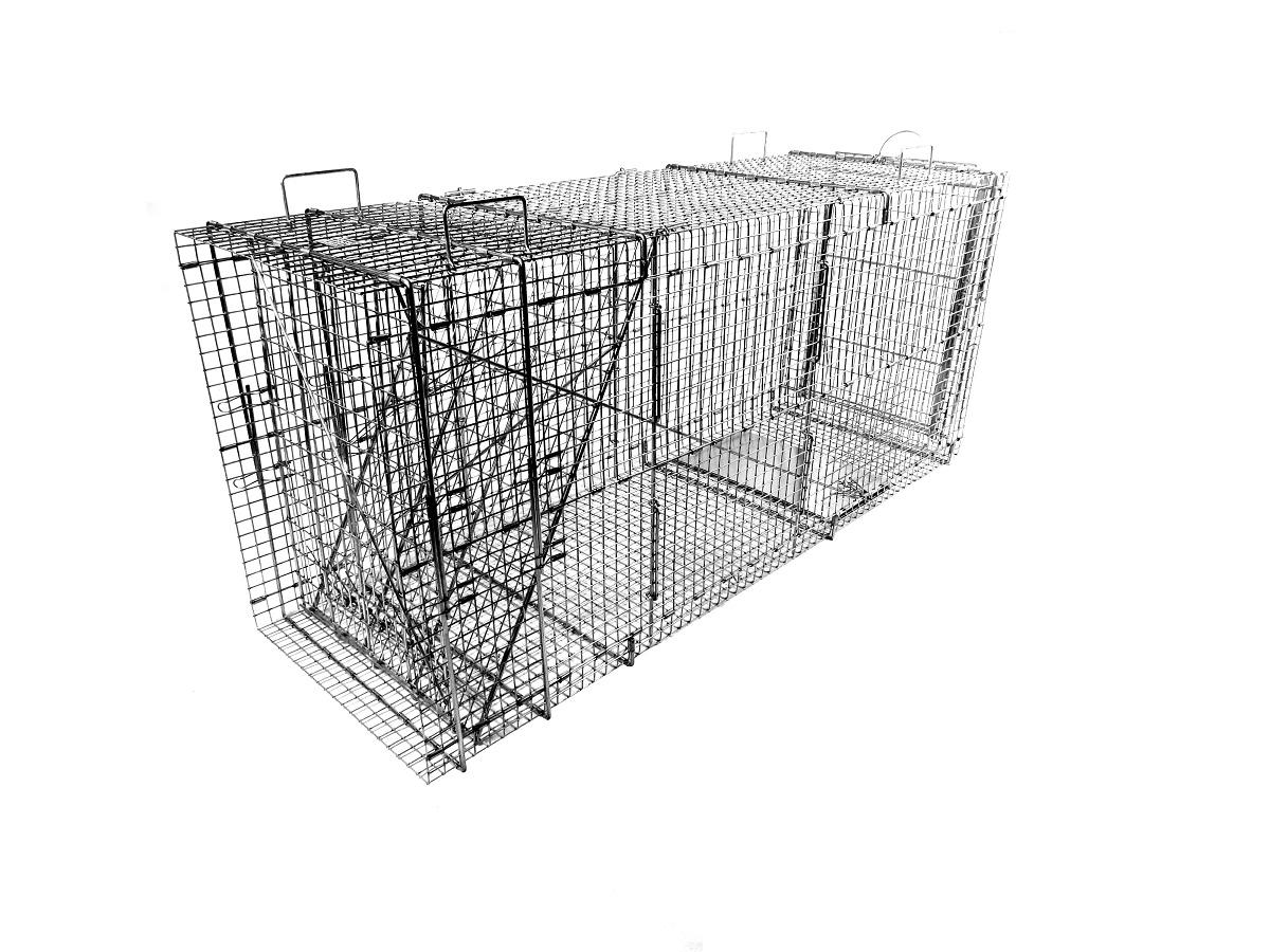 מלכודת כלבים אמריקאית טומהוק מתקפלת