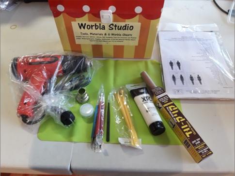 סדנת וורבלה- ערכת כלים .חומרים והדרכה בסיסית ליצירה בוורבלה