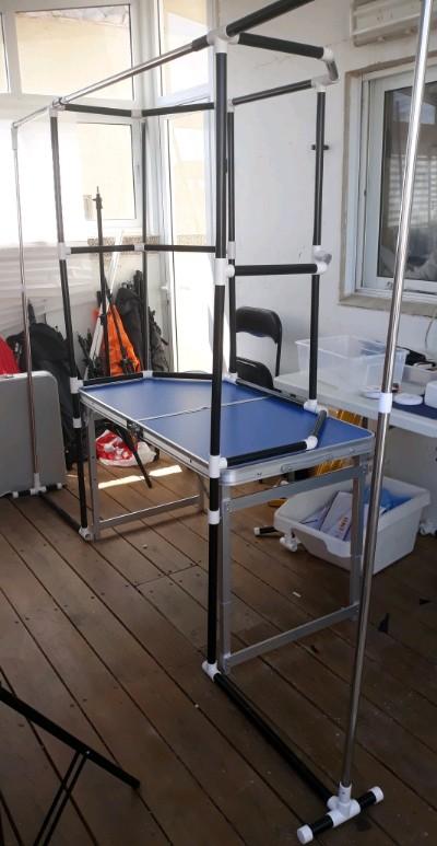 במת שולחן טרפז/ כנפיים2.5×1.8