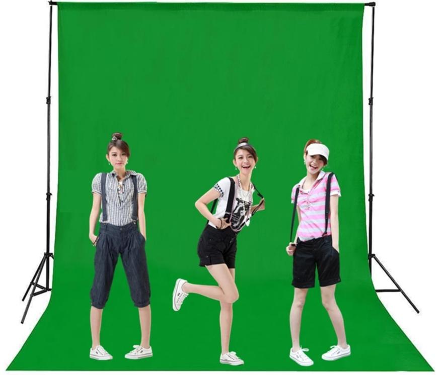 מסך ירוק לצילום chromakey  3×4