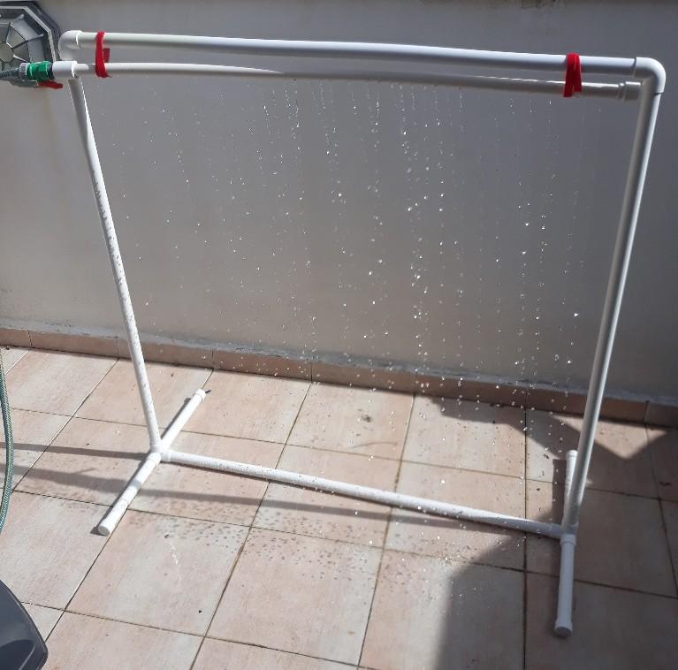 מנהרת/ גשר מים/מקלחת לכלבים100*100*50