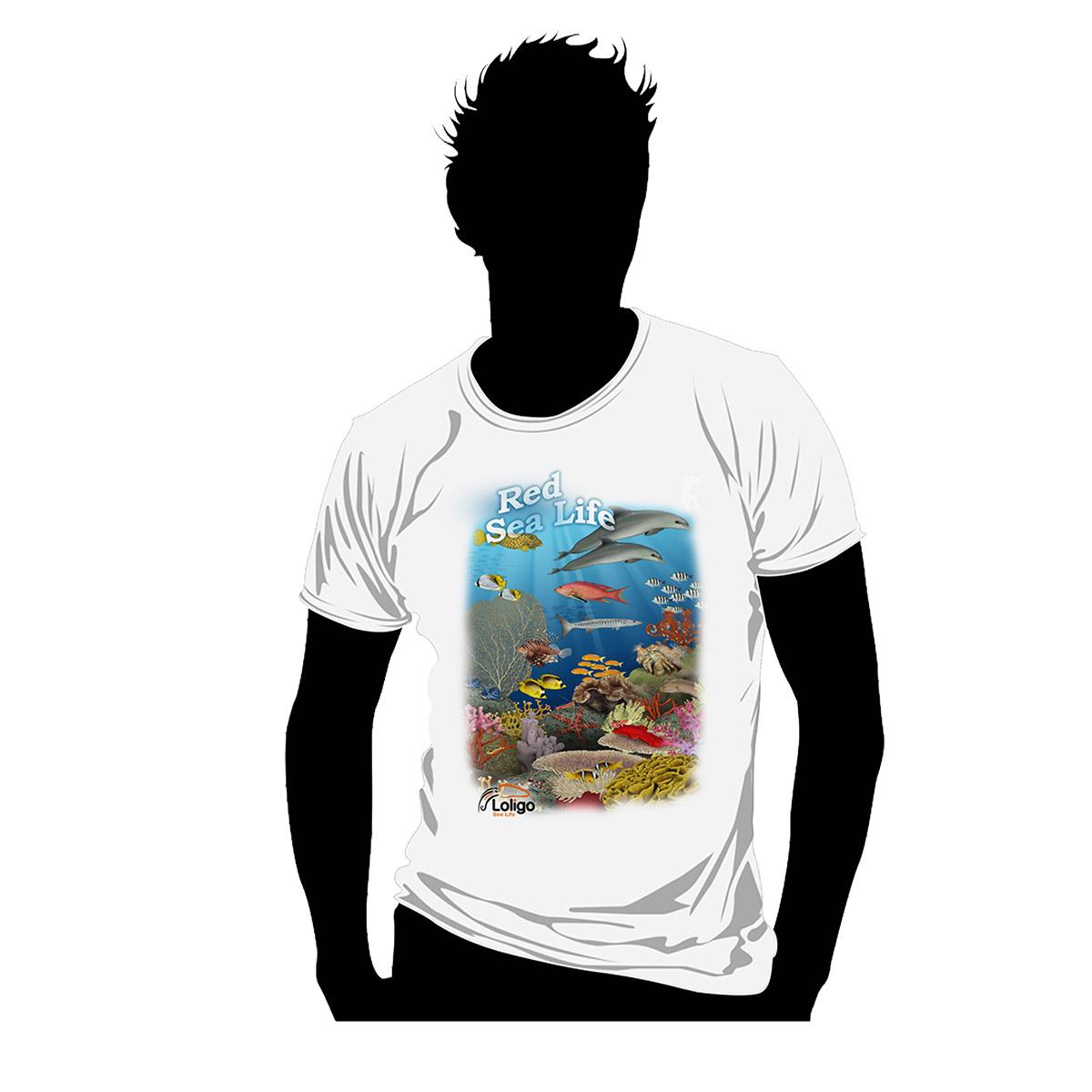 חולצת לוליגו - הים האדום