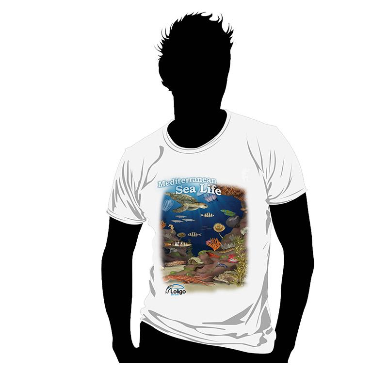 חולצת לוליגו - הים התיכון