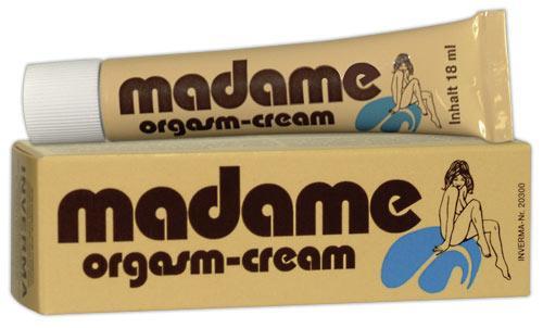 משחת אורגזמה madame orgasmus creme