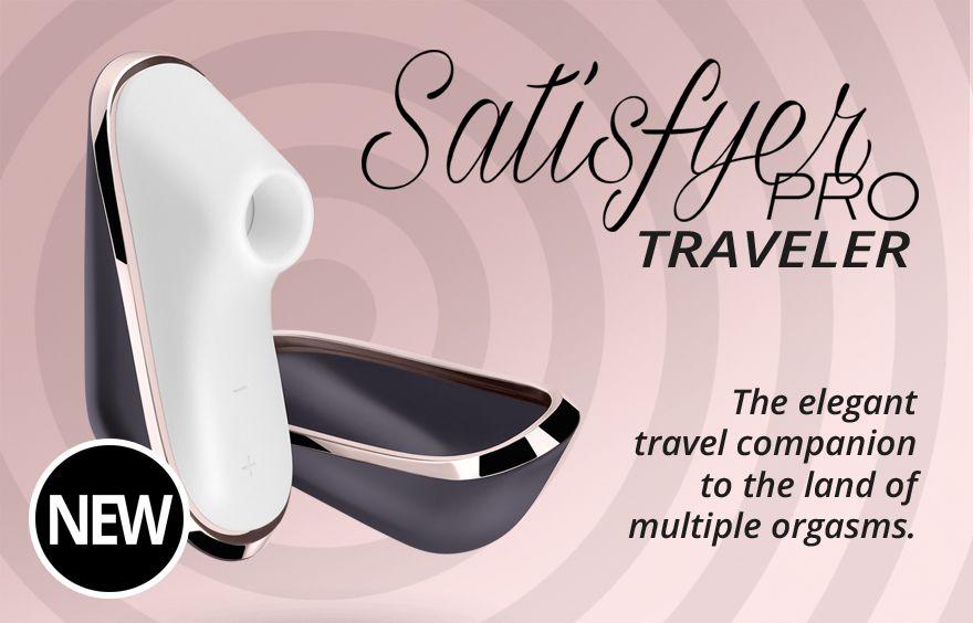 סטיספייר פרו לנסיעות - Satisfyer pro travler