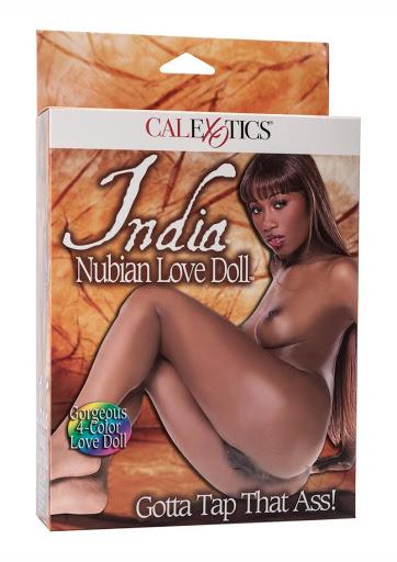 בובת מין מתנפחת של שחקנית הפורנו השחורה INDIA
