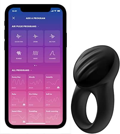 טבעת רטט זוגית Signet Ring כולל אפליקציה Satisfyer