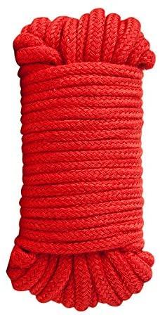 חבל קשירה מקצועי 10 מטר בצבע אדום