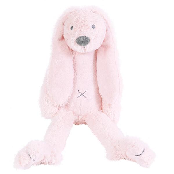 בובה לתינוק ארנב ורודה