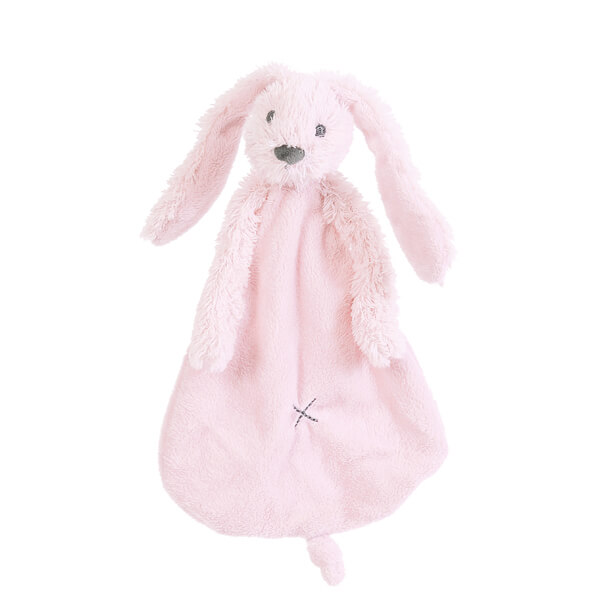 בובה לתינוק שמיכי ארנב ורוד