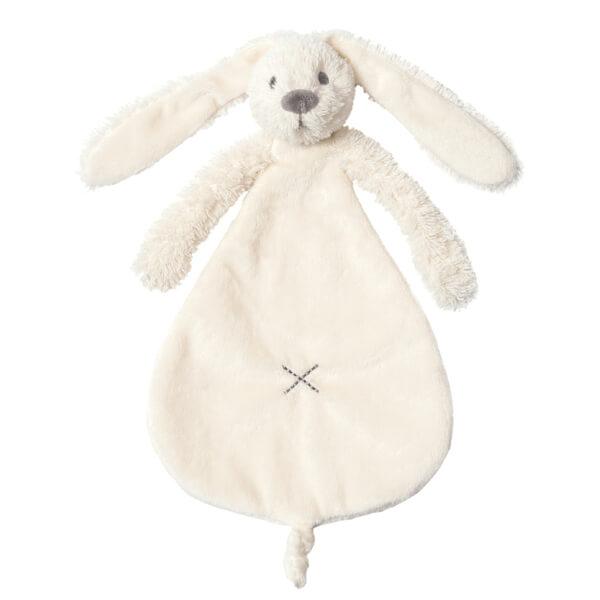 בובה לתינוק שמיכי ארנב שמנת