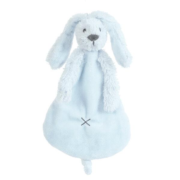 בובה לתינוק שמיכי ארנב תכלת