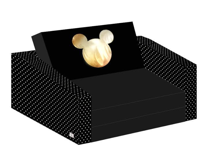 ספה לילדים הדפס עכבר זהב
