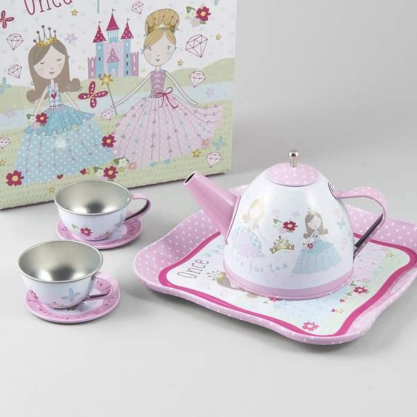סט תה לילדות נסיכה