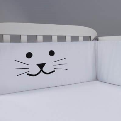 מגן ראש למיטת תינוק/ מגן ראש לעריסה