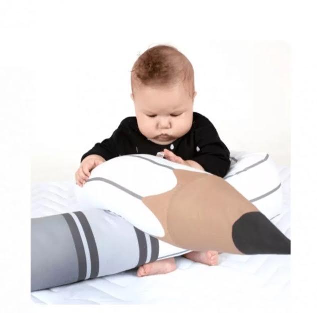 כרית נחשוש לתינוק דגם עיפרון