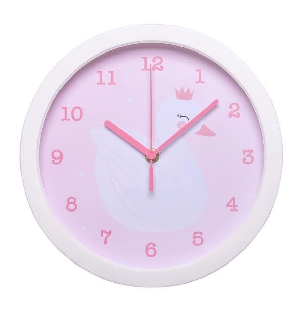 שעון לחדר ילדים ברבור