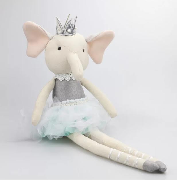 בובה לתינוק בובה לילדים דגם בובת בד פיל אקססוריז עיצוב חדר ילדים