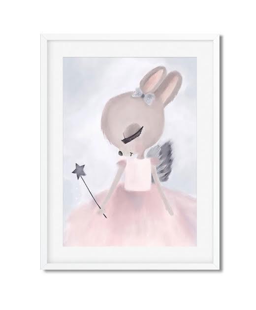 תמונה לחדר ילדים עכברונת נסיכה