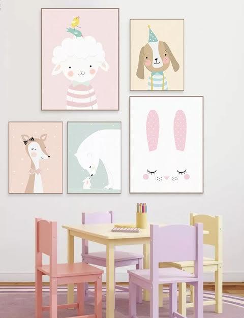 תמונה לחדר ילדים במבי