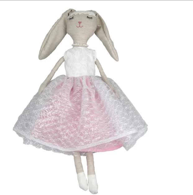 בובה לתינוק בובה לילדים דגם בובת בד ארנב אקססוריז עיצוב חדר ילדים