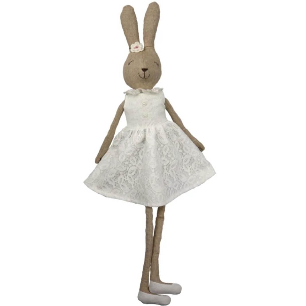 בובה לתינוק בובה לילדים בובת בד דגם ארנבת אקססוריז עיצוב חדר ילדים