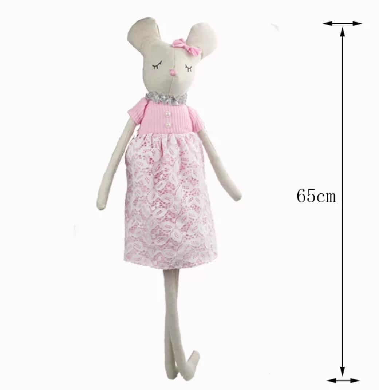 בובה לתינוק בובה לילדים דגם עכברונת אקססוריז עיצוב חדר ילדים