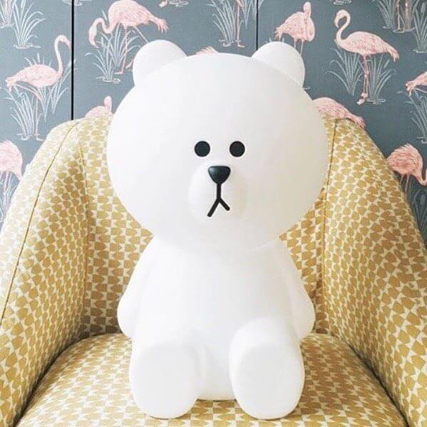 מנורה לחדר ילדים מנורת דוב לד