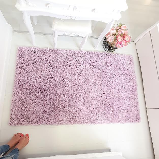 שטיח לחדר ילדים  מלבני סגול לילך