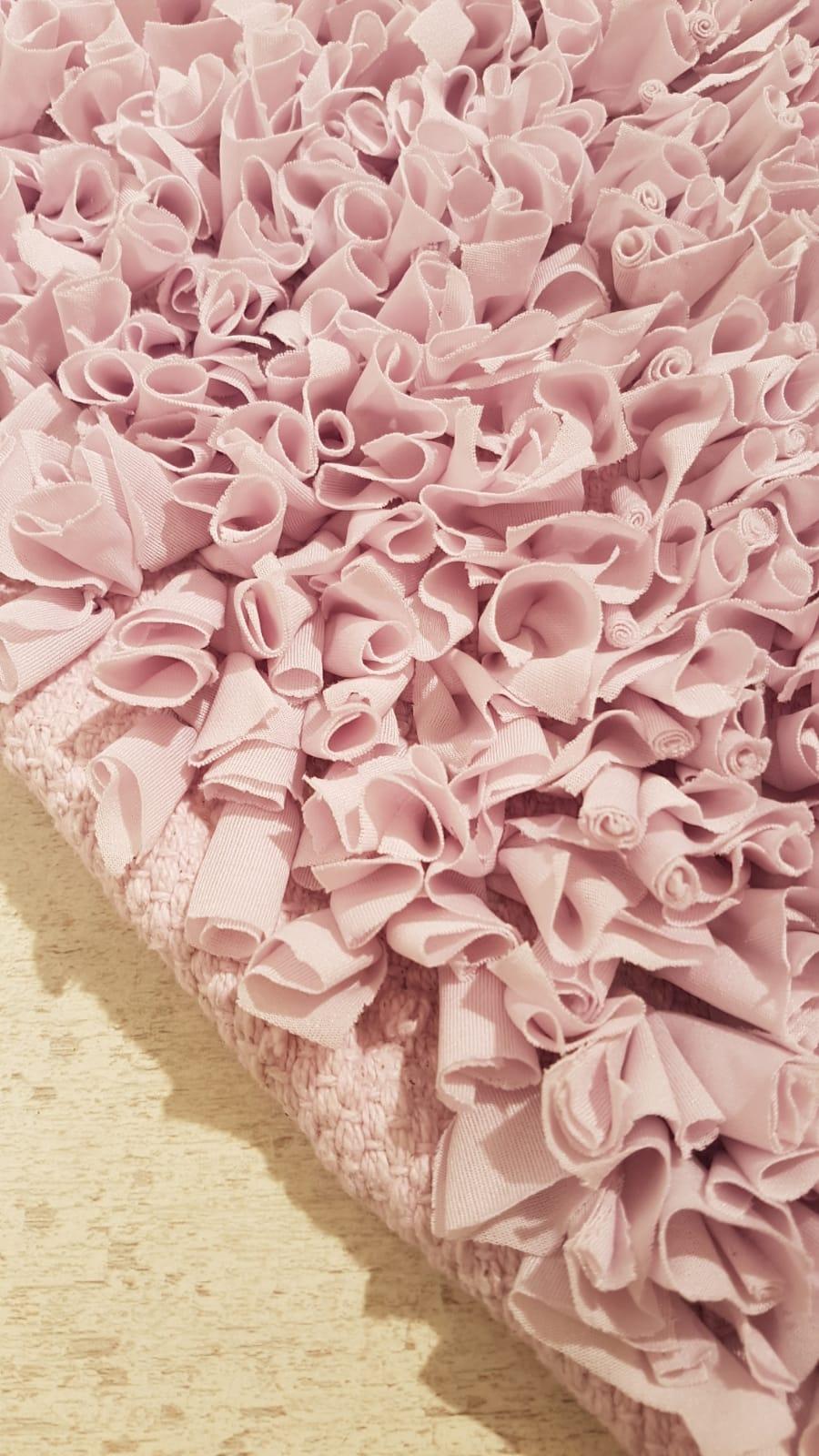 שטיח מלבן לחדר ילדים סגול לילך בהיר 90/150 ס