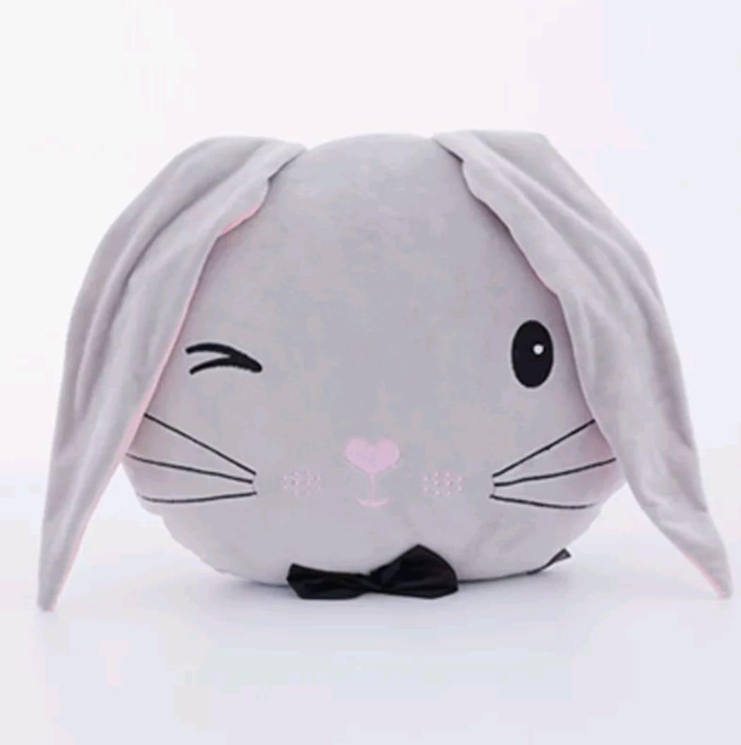 כרית מעוצבת בובה רכה לתינוק דגם ארנב כרית רכה אקססוריז עיצוב חדר ילדים