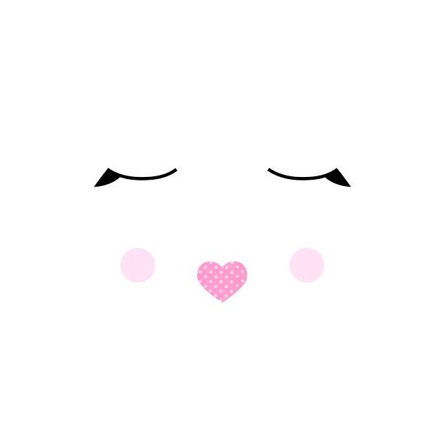 סל כביסה לתינוק דגם עיניים עצומות בלרינה