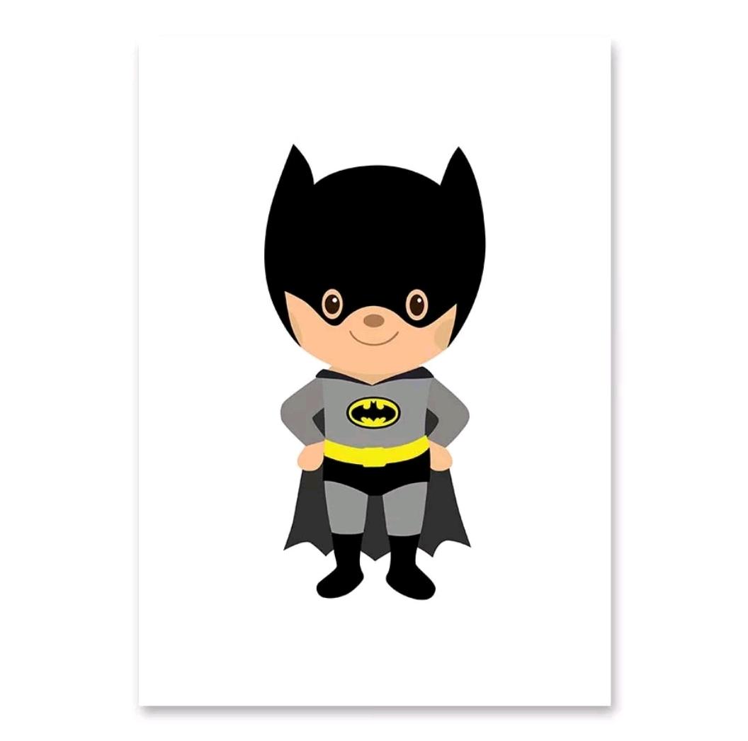 תמונה לחדר ילדים בדמות גיבורי על באטמן