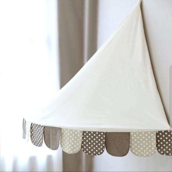 כילה לעריסה כילה למיטת תינוק אפור לבן