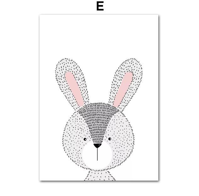 תמונה לחדר ילדים ארנב
