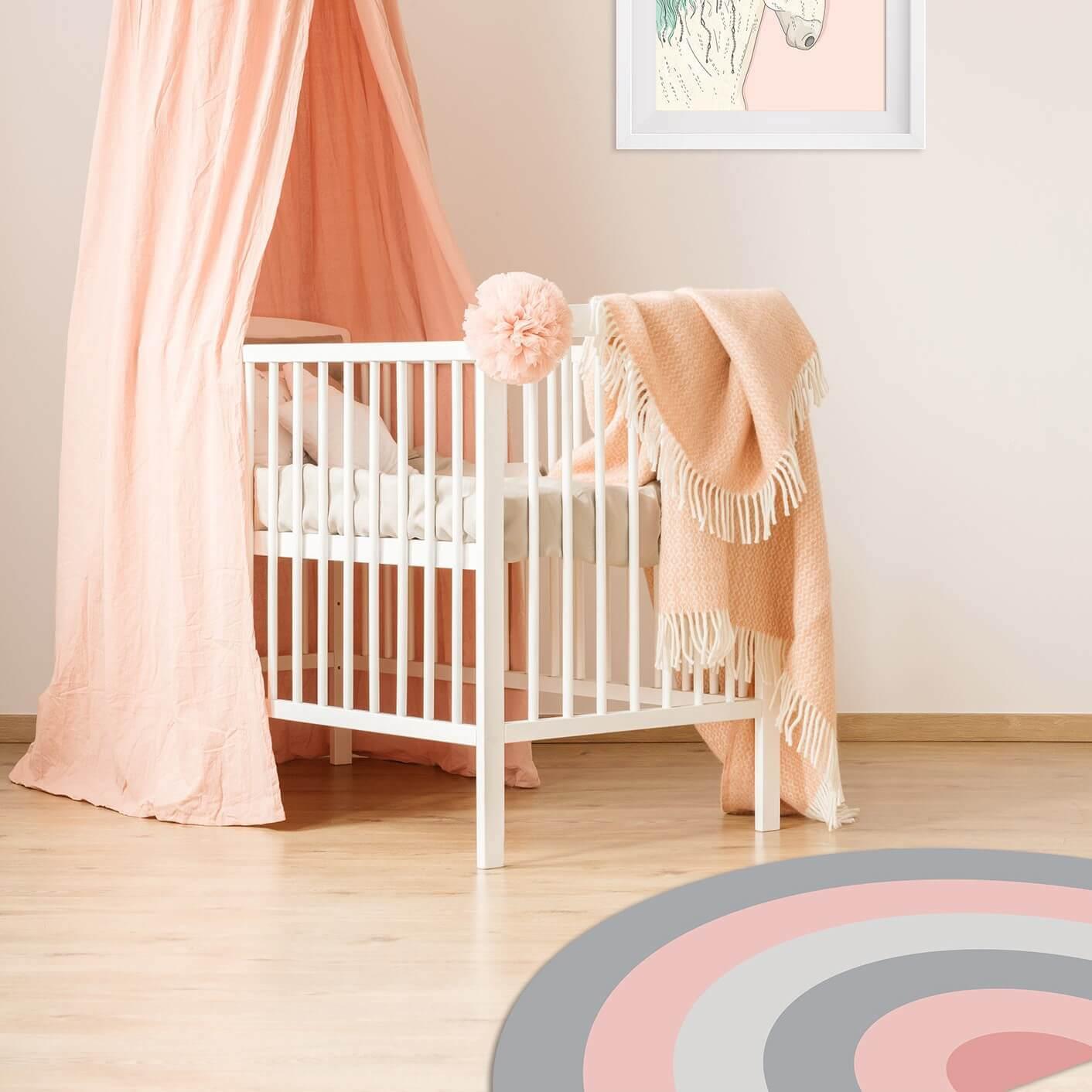 שטיח לחדר ילדים שטיח עגול חצוי