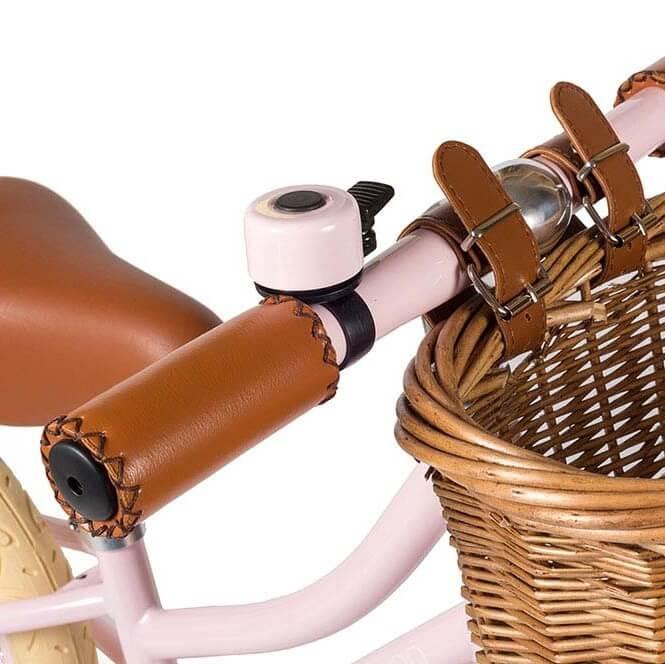 אופני איזון לילדות בגוון ורוד