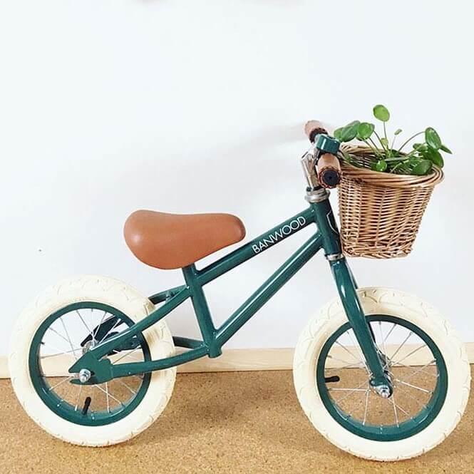 אופני איזון לילדים גוון ירוק